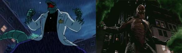 Lizard comparison
